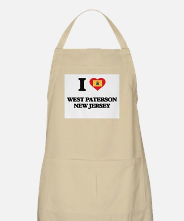 I love West Paterson New Jersey Apron