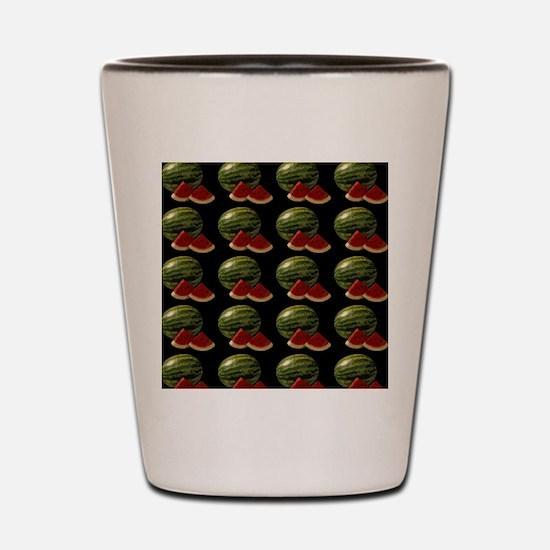 black watermelon Shot Glass