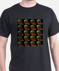 black watermelon T-Shirt