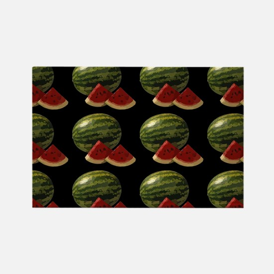 black watermelon Magnets