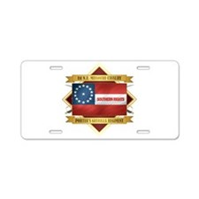 1st Northeast Missouri Cavalry Aluminum License Pl