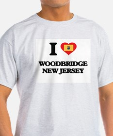 I love Woodbridge New Jersey T-Shirt