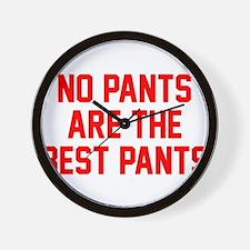 No Pants Wall Clock
