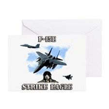 F-15E Strike Eagle Greeting Cards (Pk of 10)