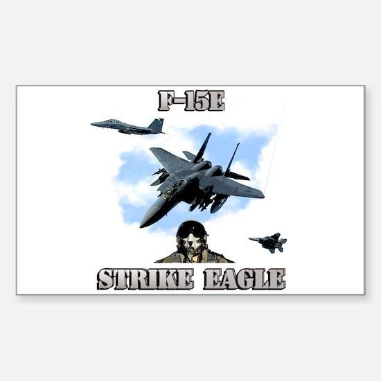 F-15E Strike Eagle Rectangle Decal