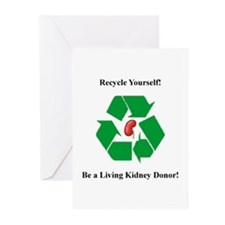 Living Kidney Donor Greeting Cards (Pk of 10)