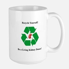 Living Kidney Donor Large Mug