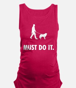 Great Pyrenees Maternity Tank Top