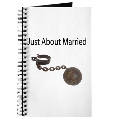 Just About Married Journal