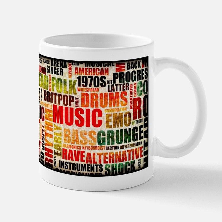 Music Themed Mug