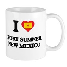 I love Fort Sumner New Mexico Mugs