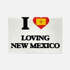 I love Loving New Mexico Magnets