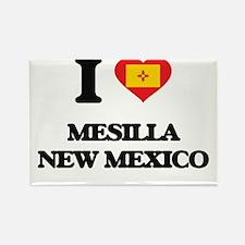 I love Mesilla New Mexico Magnets