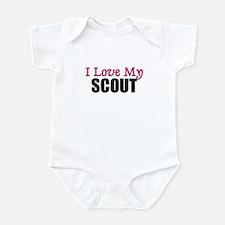 I Love My SCOUT Infant Bodysuit