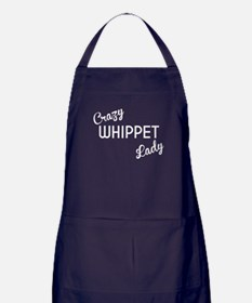 Crazy Whippet Lady Apron (dark)