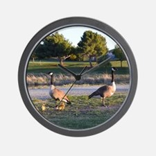 Unique Wild geese Wall Clock