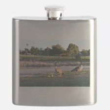 Funny Wild geese Flask