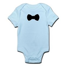 Black Bow Tie Body Suit