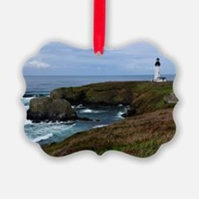 Yaquina Head Lighthouse Ornament