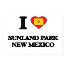 I love Sunland Park New M Postcards (Package of 8)