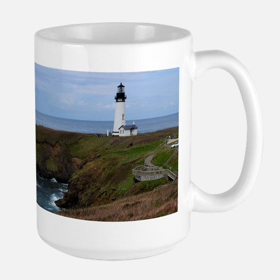 Yaquina Head Lighthouse Mugs