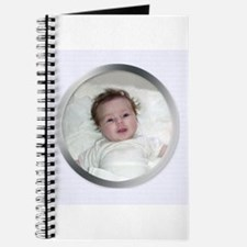 Your Photo in Circle Frame Journal