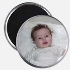 Your Photo in Circle Frame Magnets