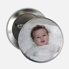 """Your Photo in Circle Frame 2.25"""" Button (10 pack)"""