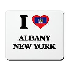 I love Albany New York Mousepad