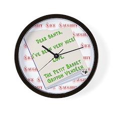 PBGV Nice Wall Clock