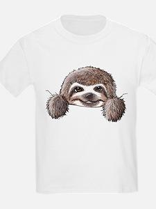 KiniArt Pocket Sloth T-Shirt