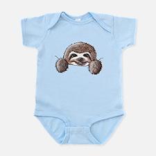 KiniArt Pocket Sloth Infant Bodysuit