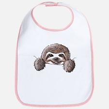 KiniArt Pocket Sloth Bib