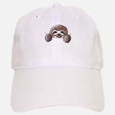 KiniArt Pocket Sloth Baseball Baseball Cap