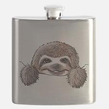 KiniArt Pocket Sloth Flask