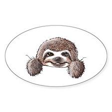 KiniArt Pocket Sloth Decal