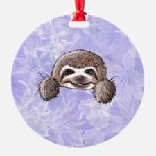 KiniArt Pocket Sloth Ornament