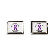 Ulcerative Colitis Rectangular Cufflinks