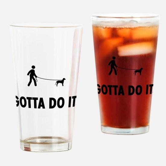 Hanoverian Hound Drinking Glass