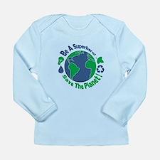 Earth Day Hero Long Sleeve T-Shirt