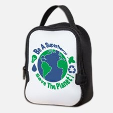 Earth Day Hero Neoprene Lunch Bag