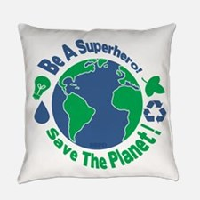 Earth Day Hero Everyday Pillow