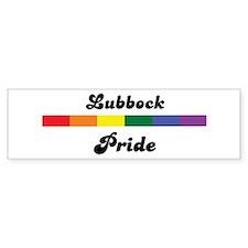 Lubbock pride Bumper Bumper Sticker