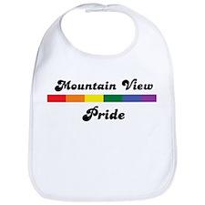 Mountain View pride Bib