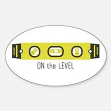 On The Level Decal