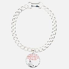 wrestling joke on gifts and t-shirts. Bracelet