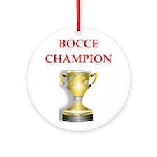 bocce joke Ornament (Round)