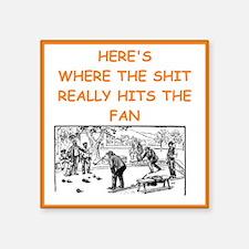 bocce joke Sticker