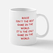 bocce joke Mugs