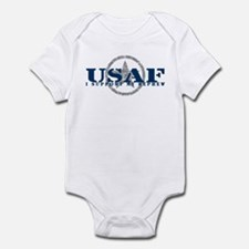 I Support My Nephew - Air Force Infant Bodysuit